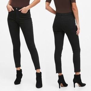 Banana Republic High-Rise Skinny Ankle Jeans
